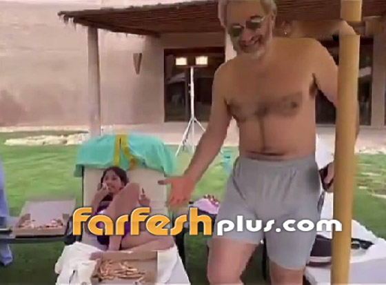 صورة رقم 5 - فيديو طريف للأمير الوليد بن طلال مع حفيدته..