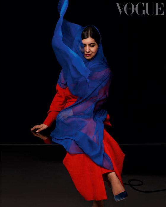 صورة رقم 2 - كشف النقاب عن الباكستانية ملالا كأحدث نجمة غلاف لمجلة فوغ البريطانية