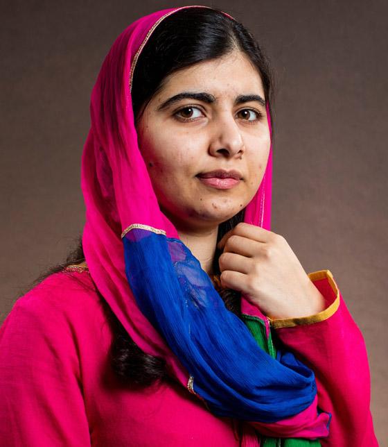 صورة رقم 5 - كشف النقاب عن الباكستانية ملالا كأحدث نجمة غلاف لمجلة فوغ البريطانية