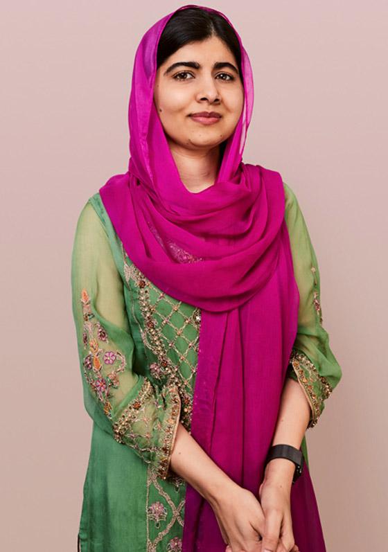 صورة رقم 6 - كشف النقاب عن الباكستانية ملالا كأحدث نجمة غلاف لمجلة فوغ البريطانية