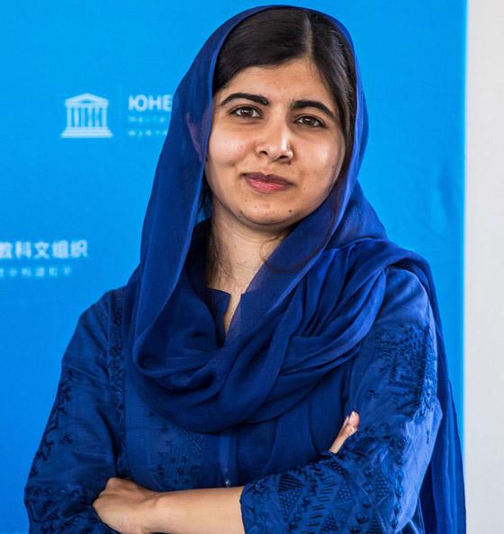 صورة رقم 7 - كشف النقاب عن الباكستانية ملالا كأحدث نجمة غلاف لمجلة فوغ البريطانية
