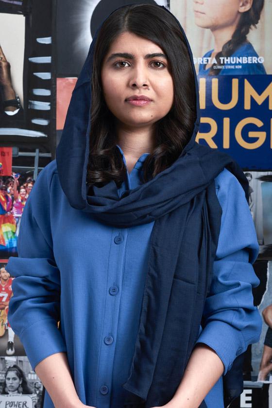 صورة رقم 8 - كشف النقاب عن الباكستانية ملالا كأحدث نجمة غلاف لمجلة فوغ البريطانية