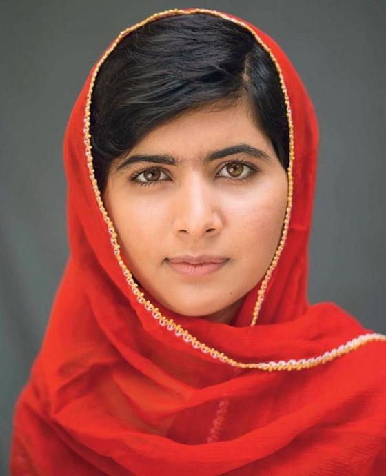 صورة رقم 10 - كشف النقاب عن الباكستانية ملالا كأحدث نجمة غلاف لمجلة فوغ البريطانية