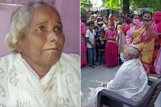 صورة رقم 1 - أغرب من الخيال: رجل هندى يدفن جثة زوجته ويقيم لها جنازة ليفاجأ بعودتها للمنزل!