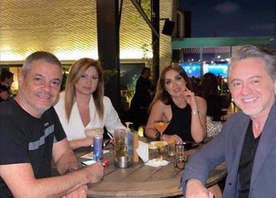 صورة رقم 1 - هل هذه صورة الفنان اللبناني مروان خوري مع خطيبته؟