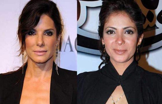 صورة رقم 6 - صور نجوم عرب يشبهون نجوم هوليوود! من تشبه كيم كاردشيان؟