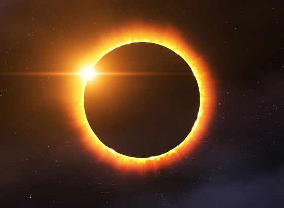 صورة رقم 6 - كسوف الشمس سيضيئ حلقة من النار في السماء.. كيف يمكنكم مشاهدته؟