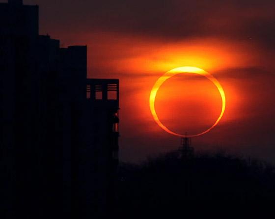 صورة رقم 7 - كسوف الشمس سيضيئ حلقة من النار في السماء.. كيف يمكنكم مشاهدته؟