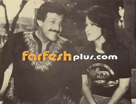 صورة رقم 2 - صور نادرة من زفاف سمير غانم ودلال عبد العزيز وأيام الخطوبة