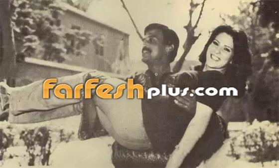 صورة رقم 3 - صور نادرة من زفاف سمير غانم ودلال عبد العزيز وأيام الخطوبة