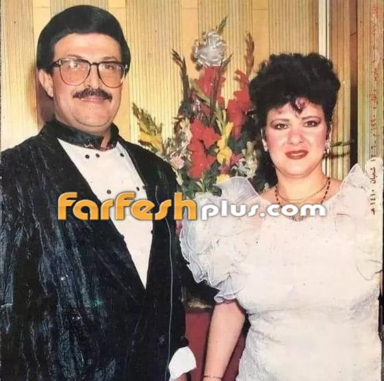 صورة رقم 4 - صور نادرة من زفاف سمير غانم ودلال عبد العزيز وأيام الخطوبة