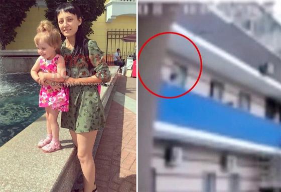 ماما أنا خائفة! طفلة تستنجد بوالدتها علقتها من الشرفة قبل أن تسقط وتموت! صورة رقم 3