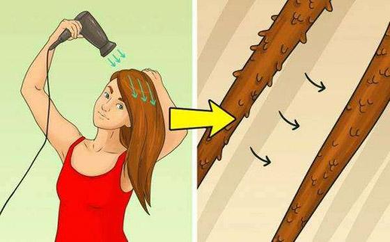 صورة رقم 3 - شد الشعر لأسفل.. وأخطاء ترتكبها النساء في تجفيف الشعر