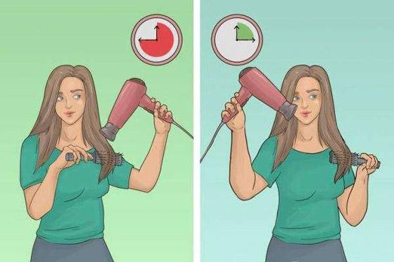 صورة رقم 5 - شد الشعر لأسفل.. وأخطاء ترتكبها النساء في تجفيف الشعر