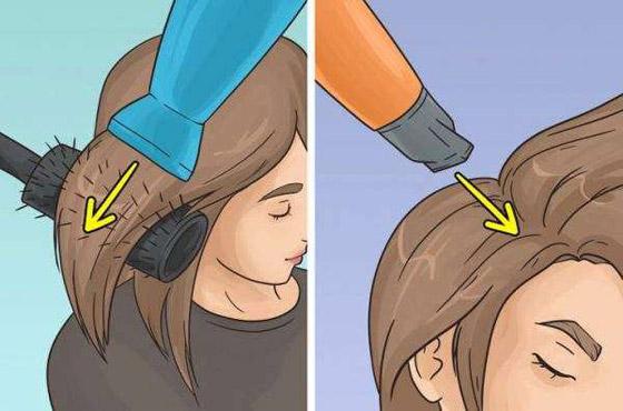 صورة رقم 2 - شد الشعر لأسفل.. وأخطاء ترتكبها النساء في تجفيف الشعر