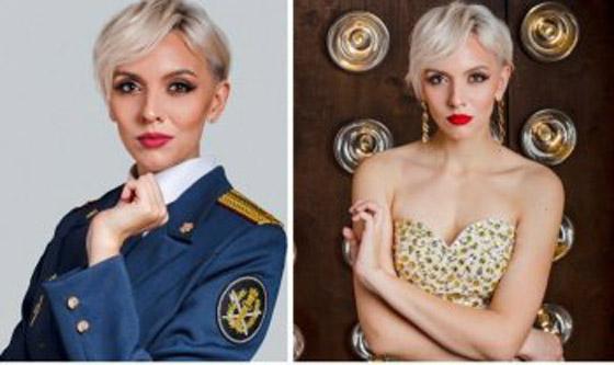 صورة رقم 11 -  صور حارسات سجون روسيات يشاركن في مسابقة جمال ويثرن الغضب