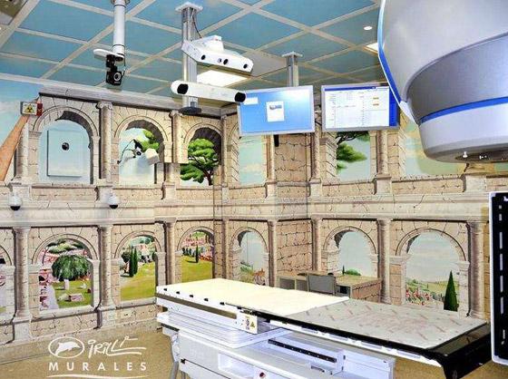 صورة رقم 9 - كيف حول فنان إيطالي مستشفى كئيبا إلى جنة للأطفال؟