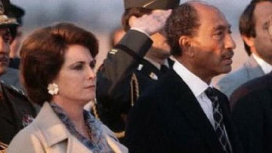 صورة رقم 2 - مصر.. وفاة جيهان السادات زوجة الرئيس الراحل أنور السادات