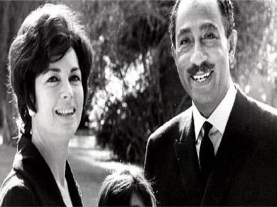 صورة رقم 3 - مصر.. وفاة جيهان السادات زوجة الرئيس الراحل أنور السادات