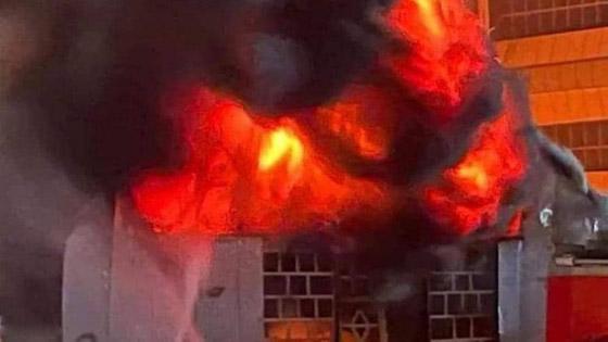 صورة رقم 1 - حصيلة كارثية.. ارتفاع عدد ضحايا حريق مستشفى كورونا بالعراق