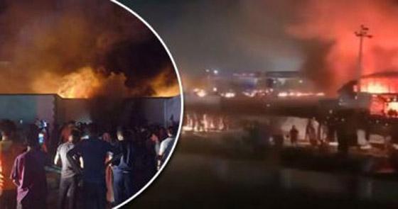 صورة رقم 2 - حصيلة كارثية.. ارتفاع عدد ضحايا حريق مستشفى كورونا بالعراق
