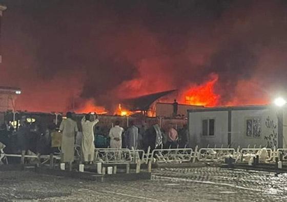 صورة رقم 5 - حصيلة كارثية.. ارتفاع عدد ضحايا حريق مستشفى كورونا بالعراق