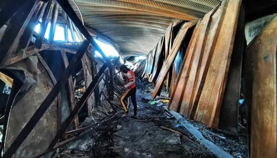 صورة رقم 6 - حصيلة كارثية.. ارتفاع عدد ضحايا حريق مستشفى كورونا بالعراق