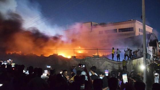 صورة رقم 8 - حصيلة كارثية.. ارتفاع عدد ضحايا حريق مستشفى كورونا بالعراق