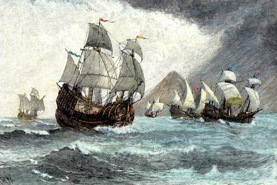 صورة رقم 2 - بفضل سفينة تائهة وساموراي.. بدأت علاقة هولندا واليابان