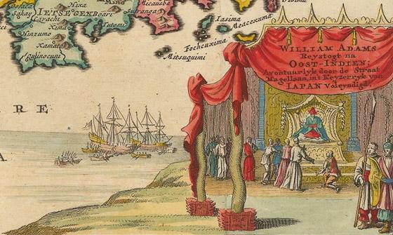 صورة رقم 3 - بفضل سفينة تائهة وساموراي.. بدأت علاقة هولندا واليابان