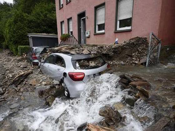 صورة رقم 3 - ألمانيا.. حصيلة مأساوية لأسوأ كارثة طبيعية منذ نصف قرن