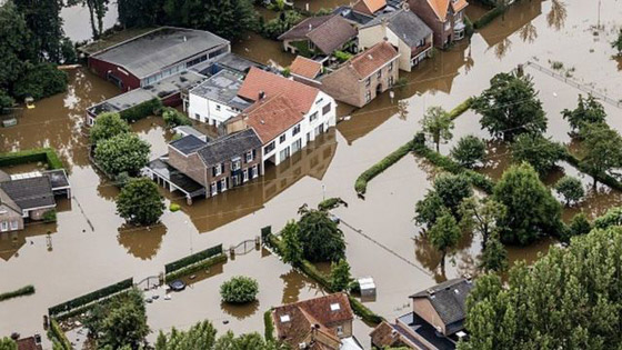 صورة رقم 4 - ألمانيا.. حصيلة مأساوية لأسوأ كارثة طبيعية منذ نصف قرن