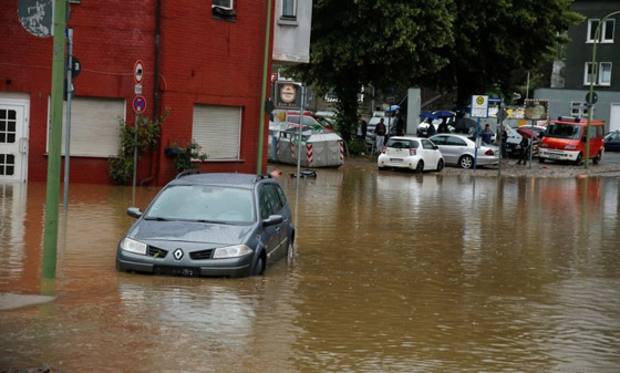 صورة رقم 8 - ألمانيا.. حصيلة مأساوية لأسوأ كارثة طبيعية منذ نصف قرن