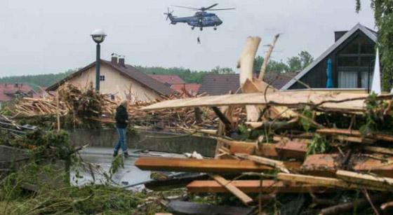 صورة رقم 1 - ألمانيا.. حصيلة مأساوية لأسوأ كارثة طبيعية منذ نصف قرن