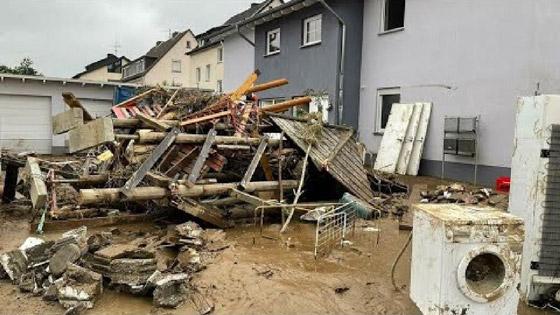 صورة رقم 10 - ألمانيا.. حصيلة مأساوية لأسوأ كارثة طبيعية منذ نصف قرن
