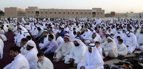 صورة رقم 4 - صور: تعرفوا إلى أشهر عادات العرب بالاحتفال في عيد الأضحى