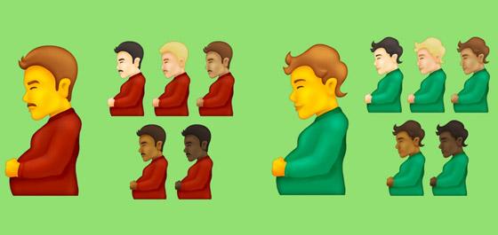 بينها إيموجي رجل حامل.. هذه الرموز التعبيرية الجديدة قد تتوفر قريبا صورة رقم 7