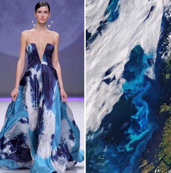 صورة رقم 7 - بالصور: إليكم أروع وأغرب صيحات الموضة المستلهمة من الطبيعة