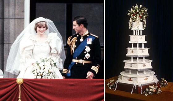 صورة رقم 2 - بعد مرور 40 عاما.. قطعة من كعكة زفاف الأمير تشارلز وديانا للبيع! صور