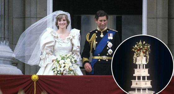 صورة رقم 6 - بعد مرور 40 عاما.. قطعة من كعكة زفاف الأمير تشارلز وديانا للبيع! صور