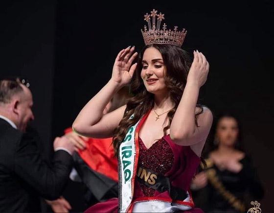 صورة رقم 6 - ماريا فرهاد تتوج بملكة جمال العراق لعام 2021