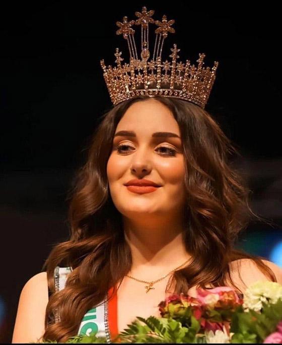 صورة رقم 1 - ماريا فرهاد تتوج بملكة جمال العراق لعام 2021