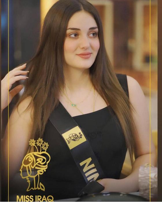 صورة رقم 10 - ماريا فرهاد تتوج بملكة جمال العراق لعام 2021