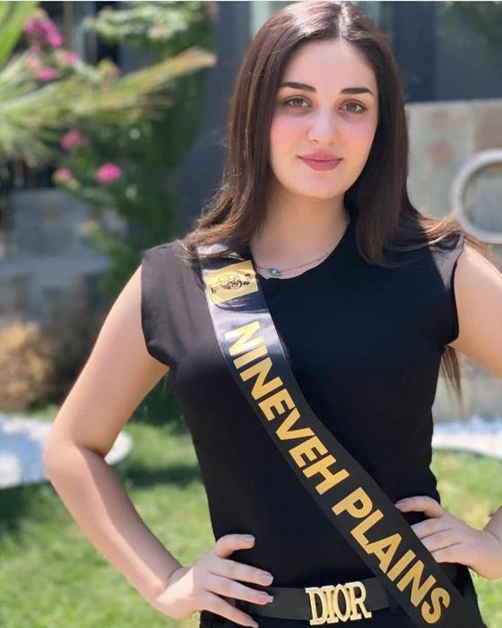 صورة رقم 11 - ماريا فرهاد تتوج بملكة جمال العراق لعام 2021
