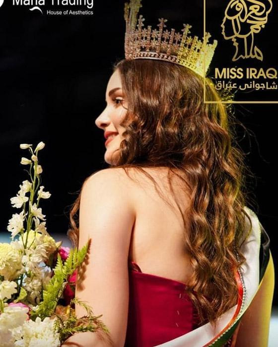 صورة رقم 13 - ماريا فرهاد تتوج بملكة جمال العراق لعام 2021