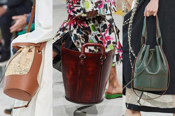 صورة رقم 3 - الحقيبة الدلو تتربع على عرش الموضة