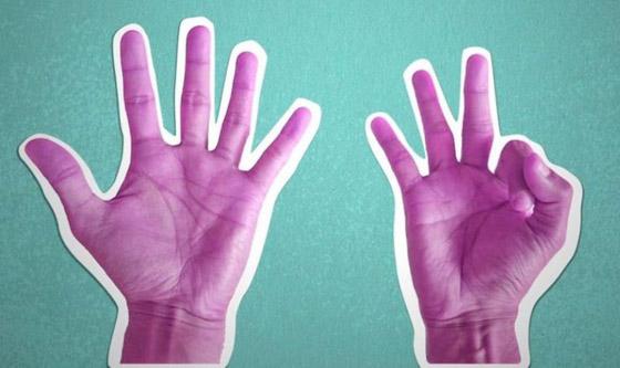 صورة رقم 2 - كيف تكشف طريقة عدكم على الأصابع عن هويتكم؟
