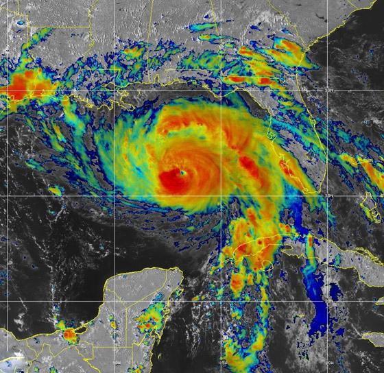 صورة رقم 5 - تتحدى إعصار آيدا لتلتقي بفتى أحلامها.. والنتيجة؟ فيديو وصور :