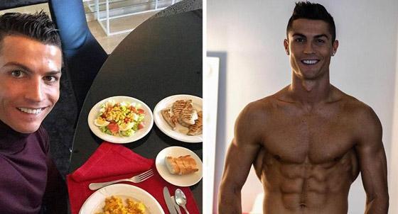 صورة رقم 2 - بيض وأخطبوط وأرز بني.. أسرار النظام الغذائي للنجم كريستيانو رونالدو