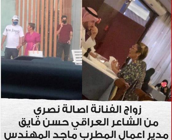 صورة رقم 2 - فيديو وصور: زواج الفنانة السورية أصالة نصري للمرة الرابعة من شاعر عراقي